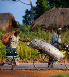 Scène de vie à Malanje, Angola