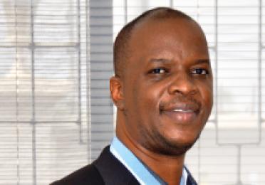 Total Valentine Mugendi, dirigeant d'une agence de communication