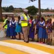 Enfants du programme Road Safety