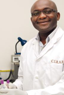 Total Augustin Mouinga, researcher