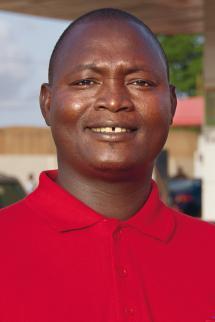 Total Adamou Younoussa, gérant de la station-service total Wadata