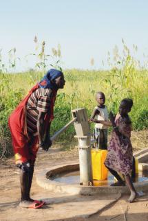 Total Soudan du Sud un acces a l'eau pour tous