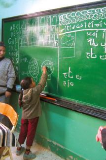 Total Egypte : un avenir pour les enfants des rues