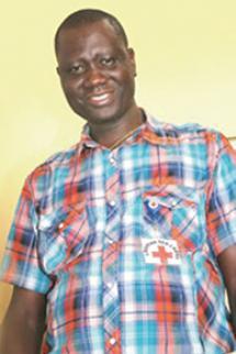 Total Fayiah Tamba, secrétaire général de la Croix-Rouge du Liberia