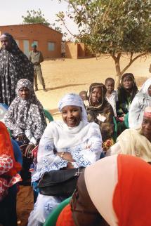Total Niger construction d'une maternite a Libore