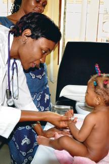 Total prevention de la transmission du VIH/Sida de la mere a l'enfant au Cameroun