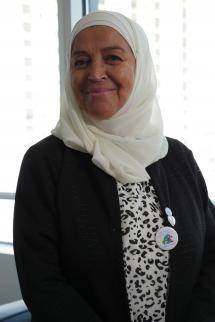 Samia Gasmi, President of the Nour Doha Association