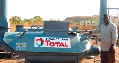 Total Mali : l'equipement des hopitaux pour lutter contre les infections