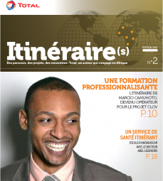 Total Itinéraires Cover Edition 2013