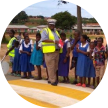 Enfants du programme Road Safety