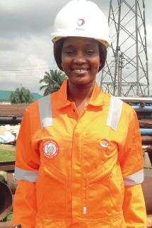Total Yetunde Shado, ingenieur en corrosion