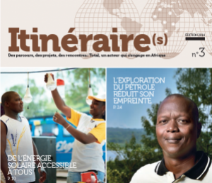 Total Itinéraires Cover Edition 2014